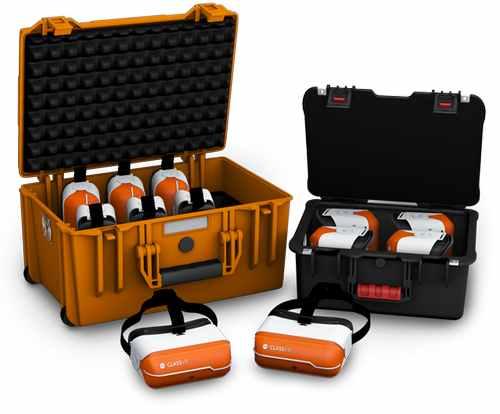 Портативное, надежное хранение и зарядка