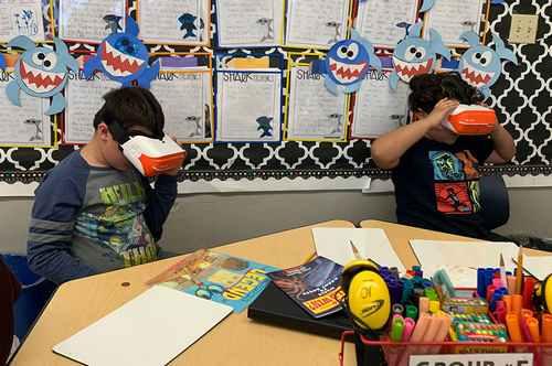 Sharks VR (учащиеся 10-11 лет)