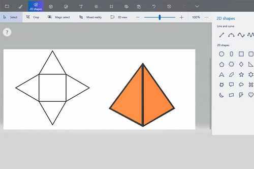 Создание трехмерных фигур (учащиеся 9-10 лет)